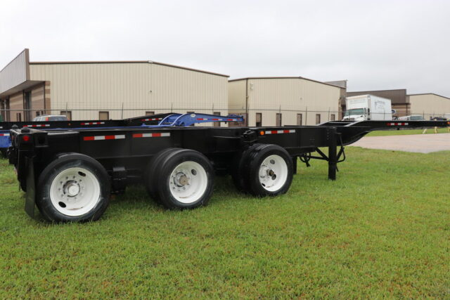 Tri-Axle Container Chassis Available!