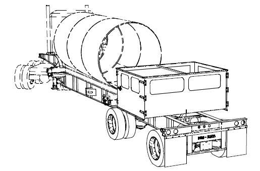custom tank fabrication tank chassis